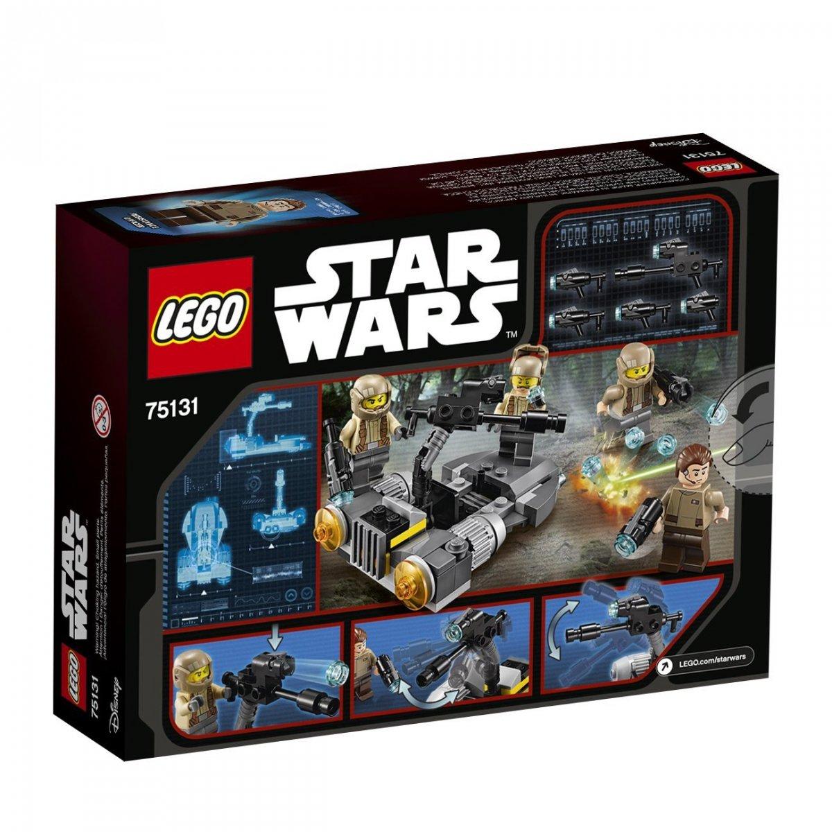 Lego Star Wars 75131 Klocki Ruch Oporu Star Wars Lego Klocki