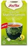 YOGI TEA® Ajurwedyjska herbata Zielona Matcha z cytryną GREEN TEA MATCHA LEMON