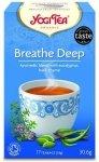 YOGI TEA® Herbata SWOBODNY ODDECH z eukaliptusem, bazylią i tymiankiem (Breathe Deep)
