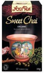 YOGI TEA® Ajurwedyjska herbata korzenna SŁODKI CZAJ (Sweet Chai)