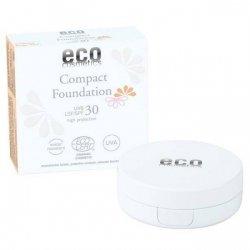 eco cosmetics Podkład w kompakcie SPF 30 (medium beige 025)