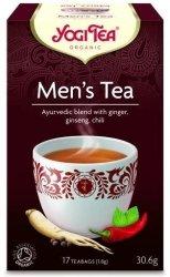 YOGI TEA®   Herbata DLA MĘŻCZYZNY z imbirem, żeń-szeniem i chili (Men's Tea)