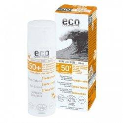 Eco Cosmetics SURF & FUN Tonowany krem na słońce LSF/SPF 50+ z owocem granatu i olejem z makadamii