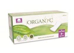Organyc Ekologiczne wkładki higieniczne cienkie z bio  bawełny 24 szt.