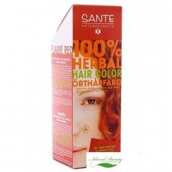 Sante Roślinna farba do włosów w proszku FLAMMENROT / miedź