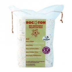 Bocoton Ekologiczne płatki kosmetyczne maxi dla dzieci