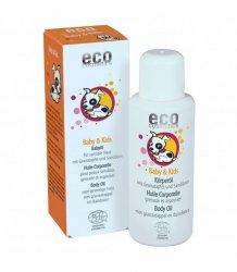 eco cosmetics Olejek do ciała dla dzieci i niemowląt 100 ml.