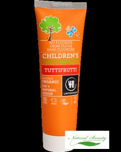Urtekram Pasta do zębów dla dzieci Trutti Frutti