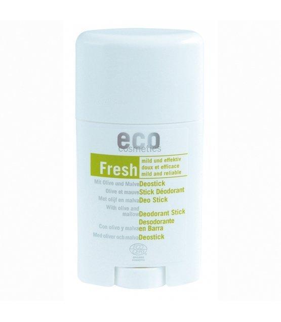 Eco cosmetics Dezodorant w sztyfcie z liściem oliwnym i malwą, 50 ml