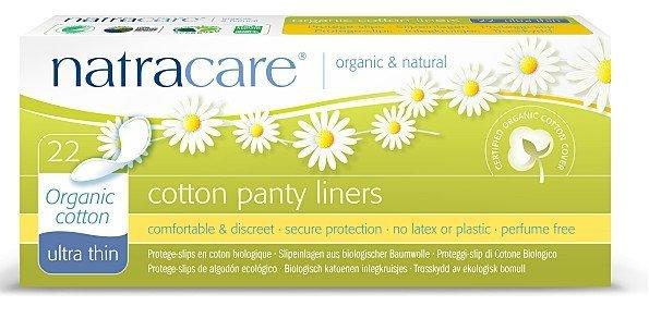Natracare ekologiczne wkładki higieniczne super cienkie 22 szt
