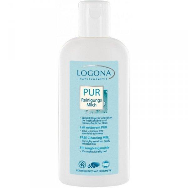 Logona PUR Mleczko do mycia twarzy dla alergików 200 ml