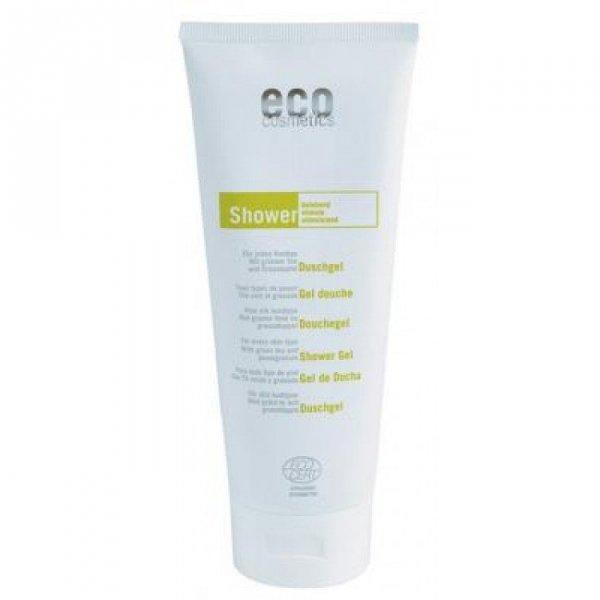 Eco Cosmetics Żel pod prysznic z zieloną herbatą i owocem granatu, 200 ml