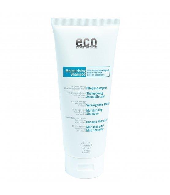 eco cosmetics Szampon pielęgnacyjny z liściem oliwnym i malwą, 200 ml