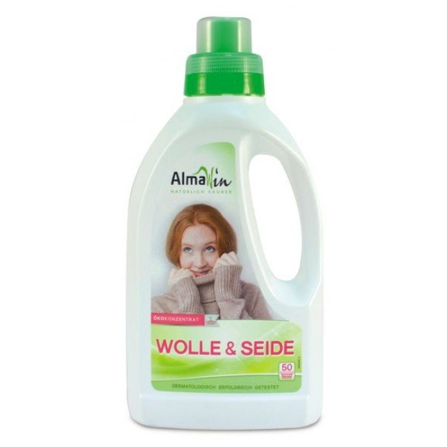 AlmaWin Skoncentrowany płyn do prania wełny, jedwabiu i włókien naturalnych