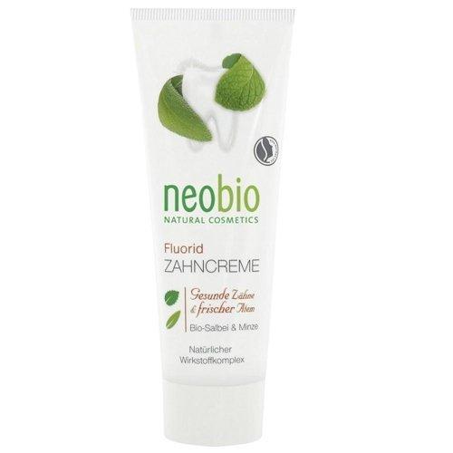Neobio Pasta do zębów z fluorem z bio szałwią i ksylitolem. 75ml