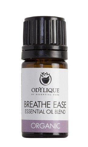 Odylique by Essential Care organiczna mieszanka olejków eterycznych ułatwiająca oddychanie dla dorosłych, 5 ml