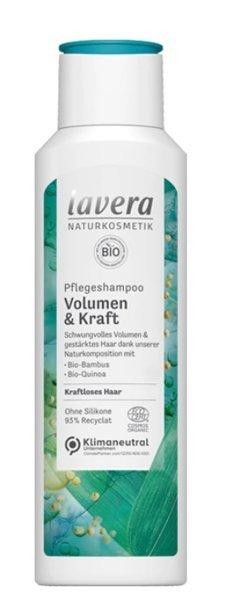 Lavera Szampon zwiększający objętość z bio-bambusem i bio-komosą 250 ml