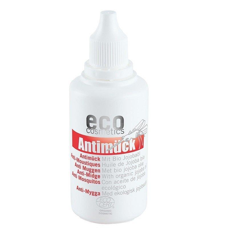 eco cosmetics  - Olejek przeciw komarom z bio-olejem jojoba 50 ml.