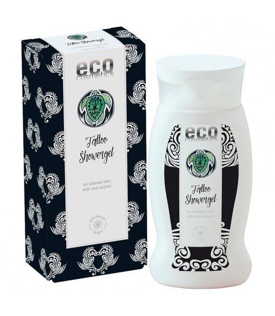 Eco cosmetics Żel po prysznic dla skóry z tatuażami z ekstraktem z noni