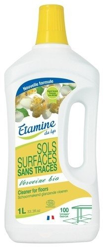 EDL Etamine Du Lys koncentrat do mycia podłóg i powierzchni użytkowych organiczna werbena 1 l