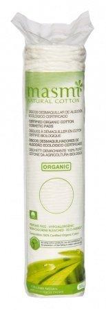 Masmi Płatki kosmetyczne - 100% organicznej bawełny