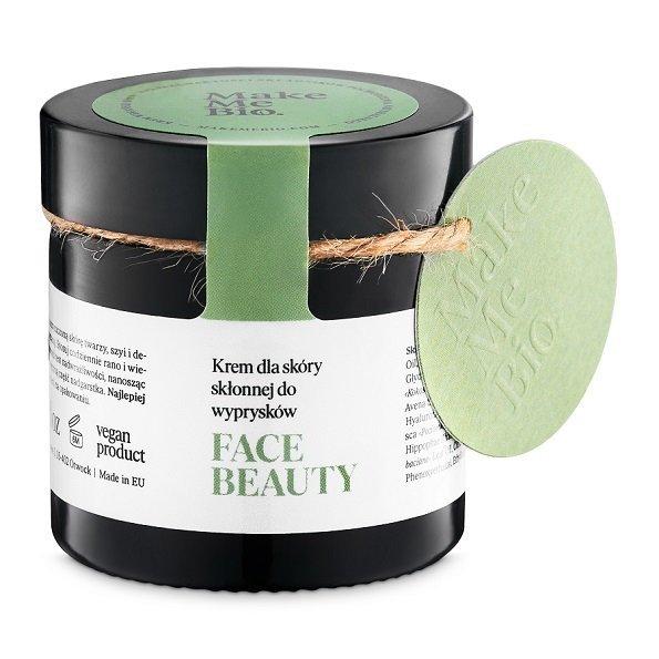 Make Me Bio FACE BEAUTY Krem dla skóry skłonnej do wyprysków 60 ml.