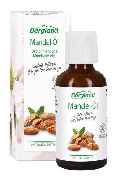 Bergland Naturalny olej ze słodkich migdałów 50 ml