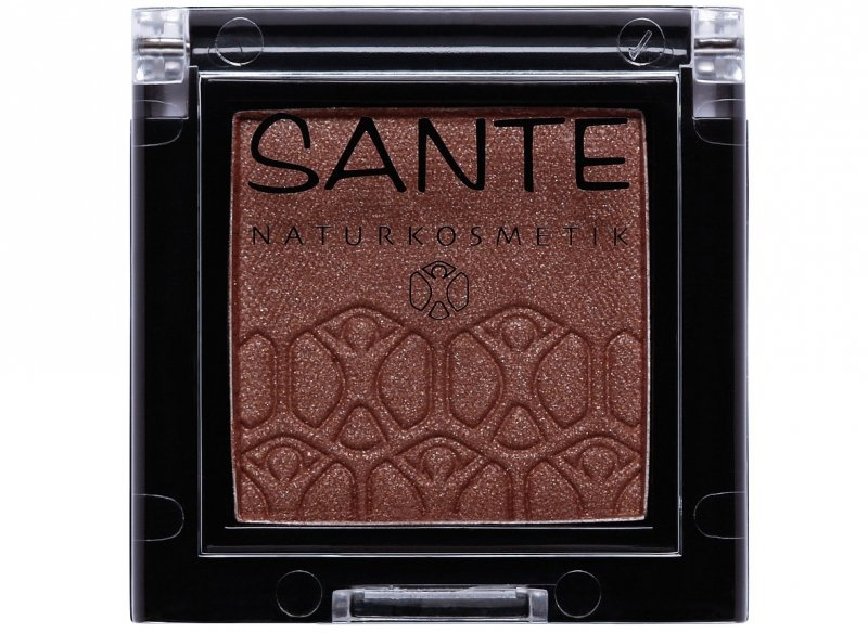 Sante Cień do powiek Mono shade 05 sparkling brown 2g