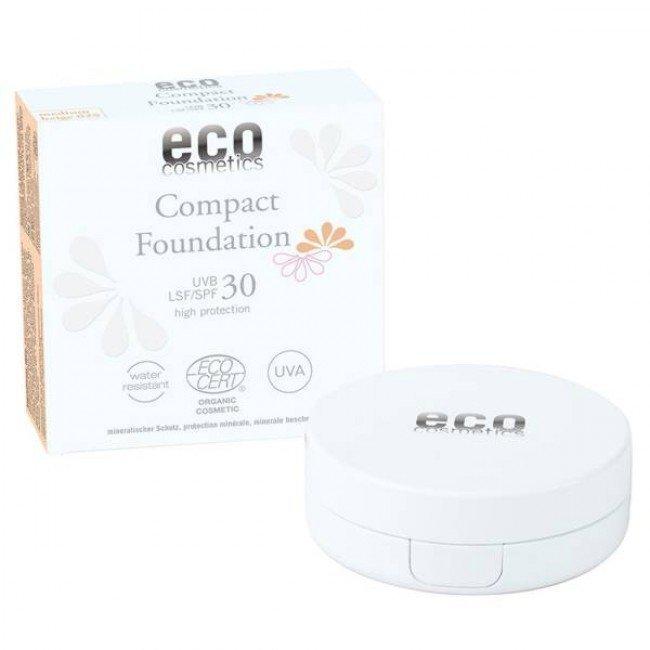 co cosmetics -Podkład w kompakcie SPF 30 (medium beige 025)