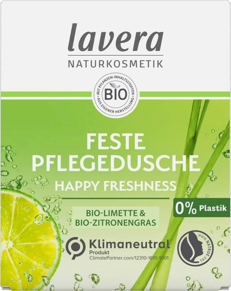 Lavera Kostka pod prysznic z bio-limonką i bio-trawą cytrynową