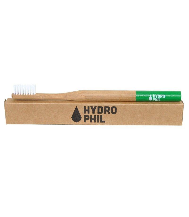 Hydrophil Ekologiczna szczoteczka do zębów ŚREDNIA zielona