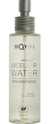 BIO2YOU delikatna nawilżająca woda micelarna do twarzy z zieloną herbatą, gliceryną, rokitnikiem i panthenolem 100 ml