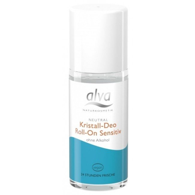Alva Dezodorant-kryształ roll-on sensitiv