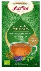 Yogi Tea Ajurwerdyjska herbata Chwila spokoju PEACEFUL MOMENT (20x2,1g)