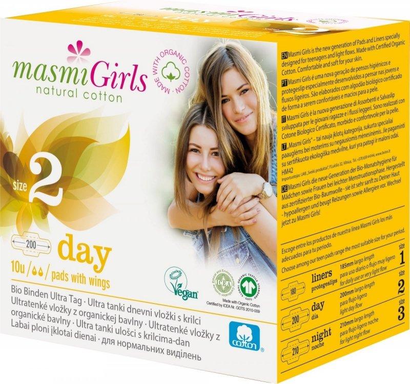 MASMI GIRLS podpaski na dzień - 10szt