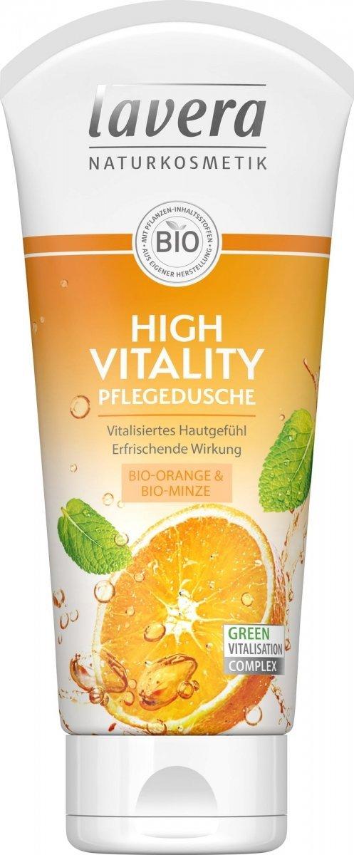 Lavera Rewitalizujący żel pod prysznic z bio-pomarańczą i bio-miętą 200 ml