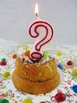 Świeczka urodzinowa do tortu ? z czerwony kontur
