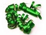 Serpentyna holograficzna 18 rolek zielona