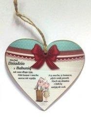 Tabliczka Serce dla Babci i Dziadka