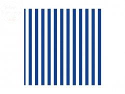 Serwetki gastr. w  paski niebieskie 33x33cm 20szt