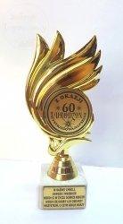 Statuetka Płomień  Z okazji 60 Urodzin
