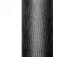 Tiul na szpulce w kolorze czarnym 15 cm x 9 m