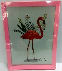 Ramka na zdjęcie 15 x 20 cm różowa