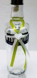 Zawieszki na wódkę weselną jasnozielone 10 szt