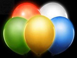 Balony led mix kolor 1sz