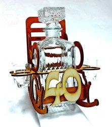 Karafka fotel bujany 40-tka na 40-te urodziny