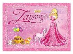 Zaproszenie na urodziny Księżniczka 1szt