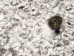 Push pop konfetti srebrny 1szt