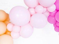 Balony 12 cali jasno-różowe pastelowe 1szt