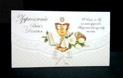 Zaproszenie na I Komunię Św. dla Babci i Dziadka
